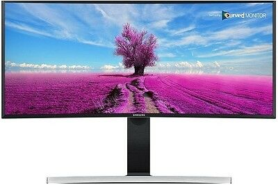 "Samsung 34"" Ultra Wide Premium Curved Led Monitor Wqhd 3440X1440, Model S34E790C"