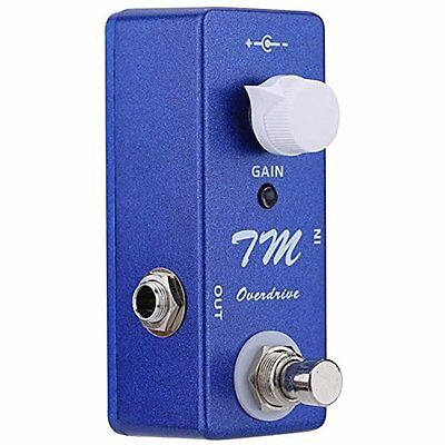 Mosky Mini TM Overdrive Pedal Electric Guitar Effect Pedal With True Bypass