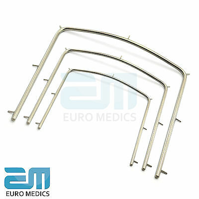 Dental Rubber Dam Frame Small Medium Large Endodontic Instruments Surgery Tools