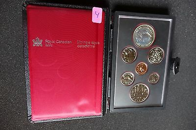 1979 Royal Canadian Mint Double Struck Coin Set with Silver and Nickel Dollars