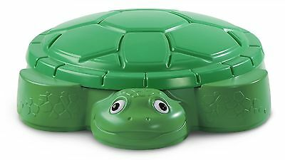 Little Tikes Turtle Sandbox for Outdoor, Developing Creativity and Social Skills