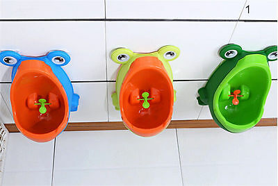 Frog Children Pee Potty Toilet Training Kids Urinal BoysTrainer Top Quality
