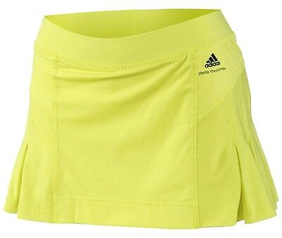 adidas Stella McCartney Damen Sport Rock + Shorts/Tight Laufrock Skort neon grün