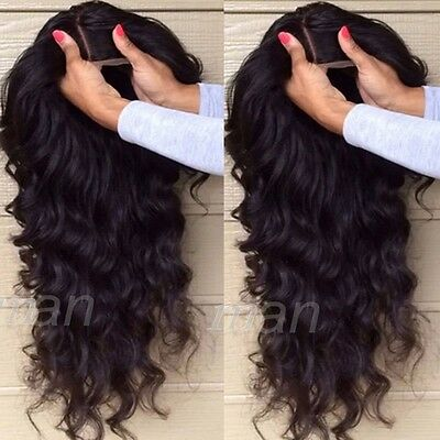 Brazilian Full Lace Wigs Lace Front Human Hair Wig Real Hair Natural Hairline #K