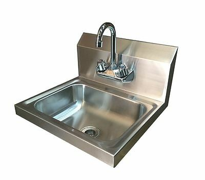Stainless Steel Hand Wash Basin with Tap