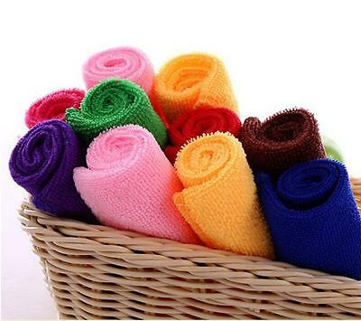 10 Pcs Microfiber Absorbent Towel Home Cleaning Towel Kitchen Washing