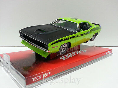 "Slot SCX Scalextric 6438 Plymouth AAR Cuda ""Lima"""
