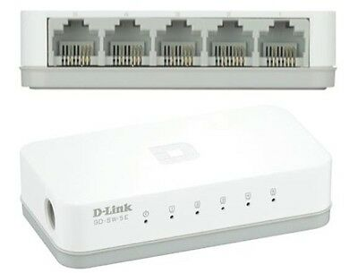 D-Link Switch 10/100MBPS 5N Rj-45 White