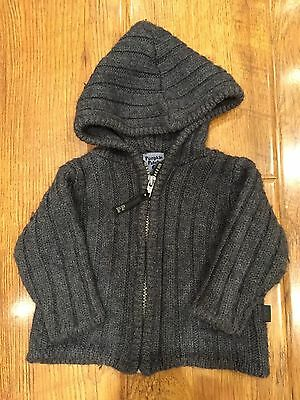 Pumpkin Patch Knitted Hoodie Size 0