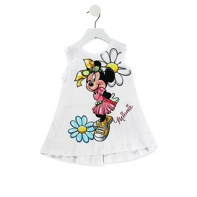 Monnalisa T-Shirt Bianca Minnie Primavera/Estate
