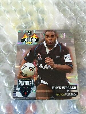 Nrl Rugby League 2006 Hot Shot Silver Tazo 14 Rhys Wesser Panthers Tazos Cards