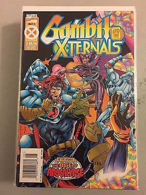 GAMBIT AND THE X-TERNALS #3 1995 THE AGE OF APOCALYPSE VF/NM Marvel Comics