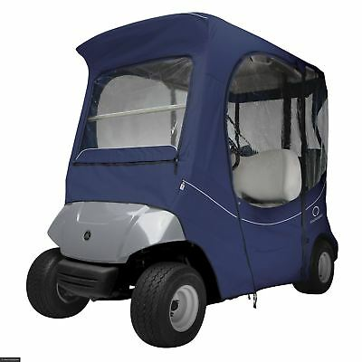 Fairway Yamaha Golf Buggy Cart Enclosure Short Roof Navy Fadesafe