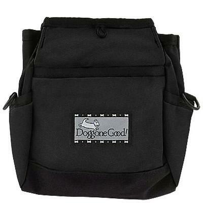 Doggone Good Rapid Reward Treat Bag - Black WITH BELT.  Shipped from the UK.