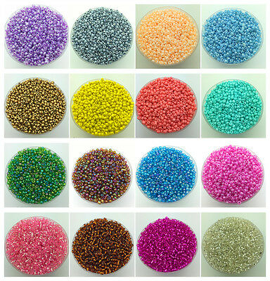 Wholesale 3mm 200pcs DIY Lots Charm Czech Glass Seed beads Jewelry Making Craft