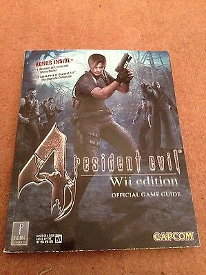 Resident Evil 4 Wii Nintendo Wii Game Official Prima Game Guide