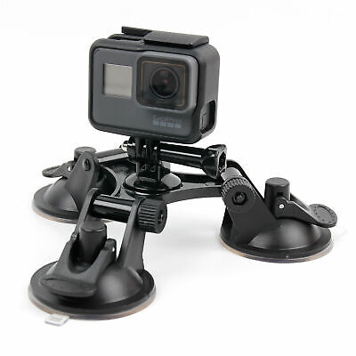 Tri-Suction Mount for the GoPro HD Hero 3, Naked Hero, HERO, HERO+ LCD, HERO4