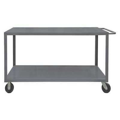 Gray Welded Utility Cart, HET-2448-2-95