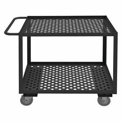 LITTLE GIANT LGLP-2436-BK Garden Cart, 1200 lb., 42 In. L, 24 In. W
