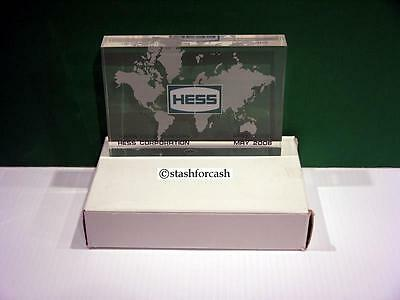 2006 NYSE Hess Corporation Acrylic Plaque - Very Rare!