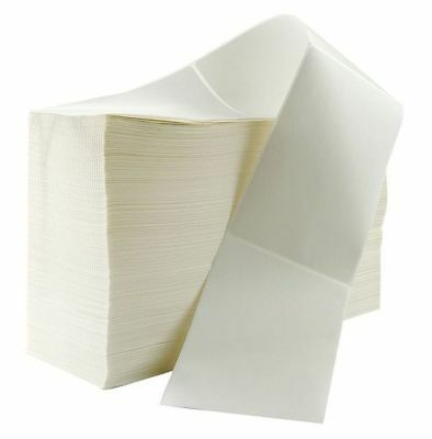CRANE CONSUMABLES 4x6 DT-P- FF Label, White, Direct Thermal Paper, PK2