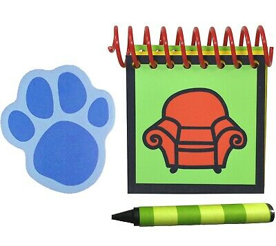 Blue's Clues Handy Dandy Notebook Steve Laminated Extra Lg Spiral Thinking Chair