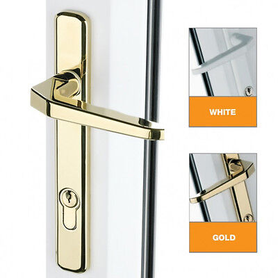 UPVC Door Handles - Lever Lever - Avocet 160mm Screws