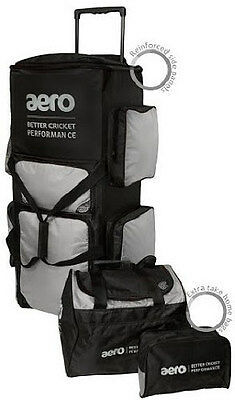 2017 Aero Stand Up Tour Wheelie Cricket Bag - FREE P&P