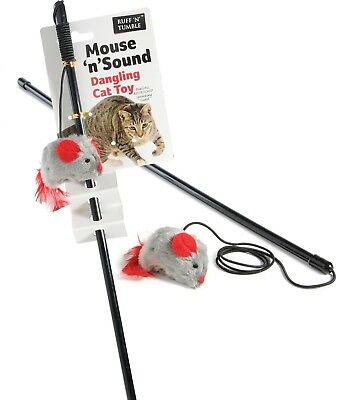 Ruff 'n' Tumble Mouse 'n' Sound Cat Dangler Interactive Toy for Cat Kitten
