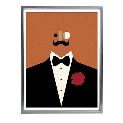 "Tom Eckersley Mid Century Modernist Fine Art Print 16""x12"""