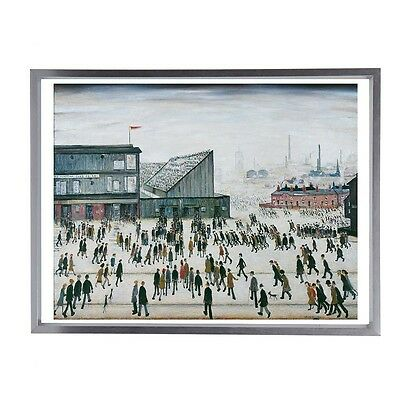 "L.S Lowry 'Going To The Match' Fine Art Print 16""x12"""