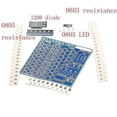 Durable Fashion Component Welding SMT SMD Soldering Board Practice