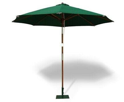 Octagonal 2.5m Garden Parasol - Patio Shade Umbrella - 4 colours - FREE cover