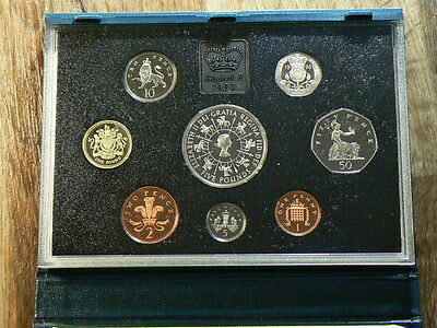 United Kingdom 1993, 8 Coin, Royal Mint Proof Set With COA #G5013