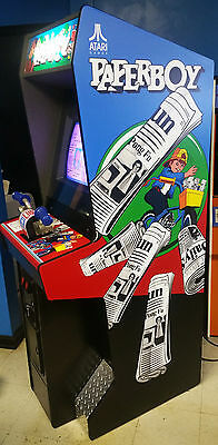 PAPERBOY Arcade Game! LOOKS GREAT! ~~~~~ Lots of new parts! CLASSIC! RARE!!!!