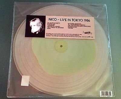 Lp Nico Live In Tokyo 1986 Limited Colour Vinyl