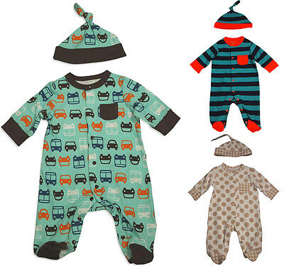 5cf3add0c OFFSPRING NEWBORN AND Infant Baby Boys Long Sleeve One Piece ...