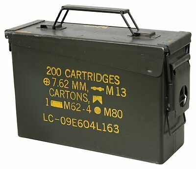 30 Cal ammo can 8 Pack - Grade 1