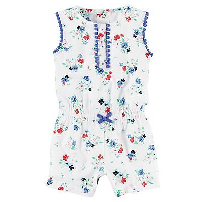 New Baby Girl Carter's Floral Romper 3 6 9 12 18 24