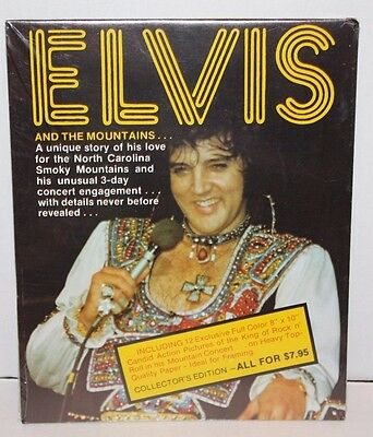 ELVIS Asheville Concert Photos Collector's Edition Heavy Top-Quality Paper