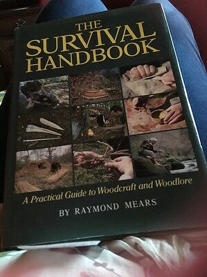 The Survival Handbook by Ray Mears (Hardback, 1994) Promotional Reprint Company