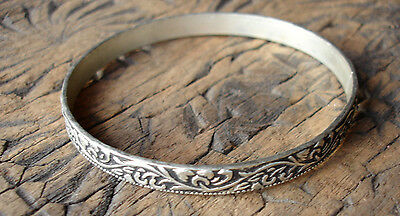 Moroccan tarnished  bracelet bangle