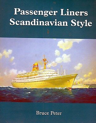 Kungsholm Gripsholm Sagafjord Royal Viking Scandanavian Ocean Liner Cruise Book