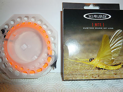 VISION NITE LINE - FLY FISHING TROUT LINE - FLOATING - 2-tone Colour Moser Loop