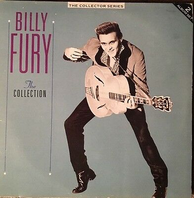 "Billy Fury The Collection 'The Collector Series' Retro 12"" Vinyl Record LP's"
