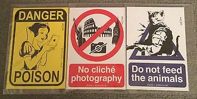 Zedsy - Sticker Set - Limited Edition - Set #1 - Hand Numbered & Stamped