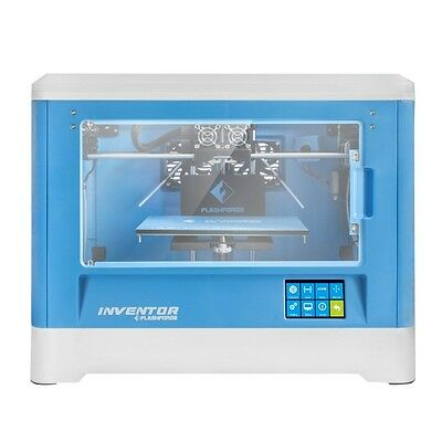 FlashForge USA Inventor 3D Printer Full Chamber Interior Dual ABS/PLA Extruders