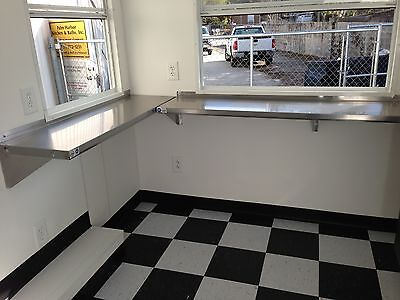 """Food Concession Trailer 7'9"""" X 10' For Sale!  Brand New!!"""
