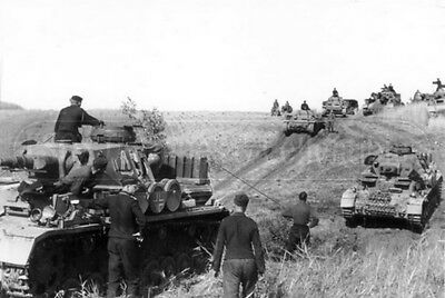 German tanks Panzer IV Ausf eastern front 1941 Wehrmacht photo photograph 4x6