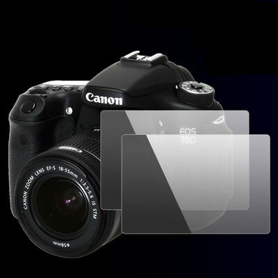"""Anti-Scratch Tempered Glass Protective Screen Film Cover For Canon EOS 6D 3"""" Lot"""